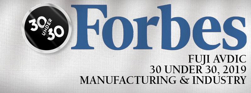 Forbes - Fuji Avdic Article