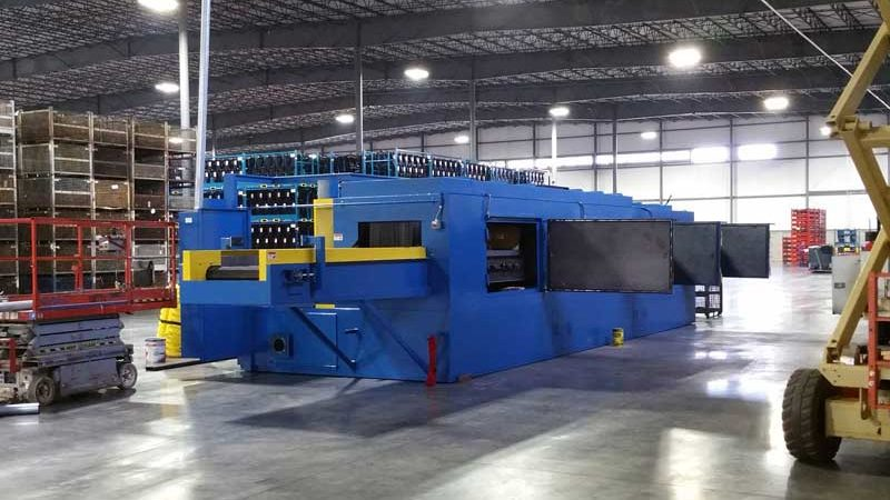 Stryker Logistics/TMA Automotive Parts Washing